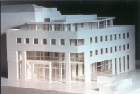 Model of the project © FIPOI